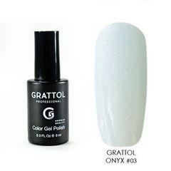 Grattol, Гель-лак Luxury Stones № 03, Onyx, 9 мл