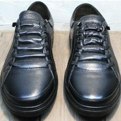 Демисезонные мужские кроссовки кеды Novelty 5235 Black