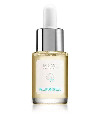 Масло для ультразвукового диффузора BLANC №15 Мальдивский бриз, Mr&Mrs Fragrance