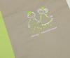 Детское постельное белье German Grass Kinder Franz серо-зеленое вышивка