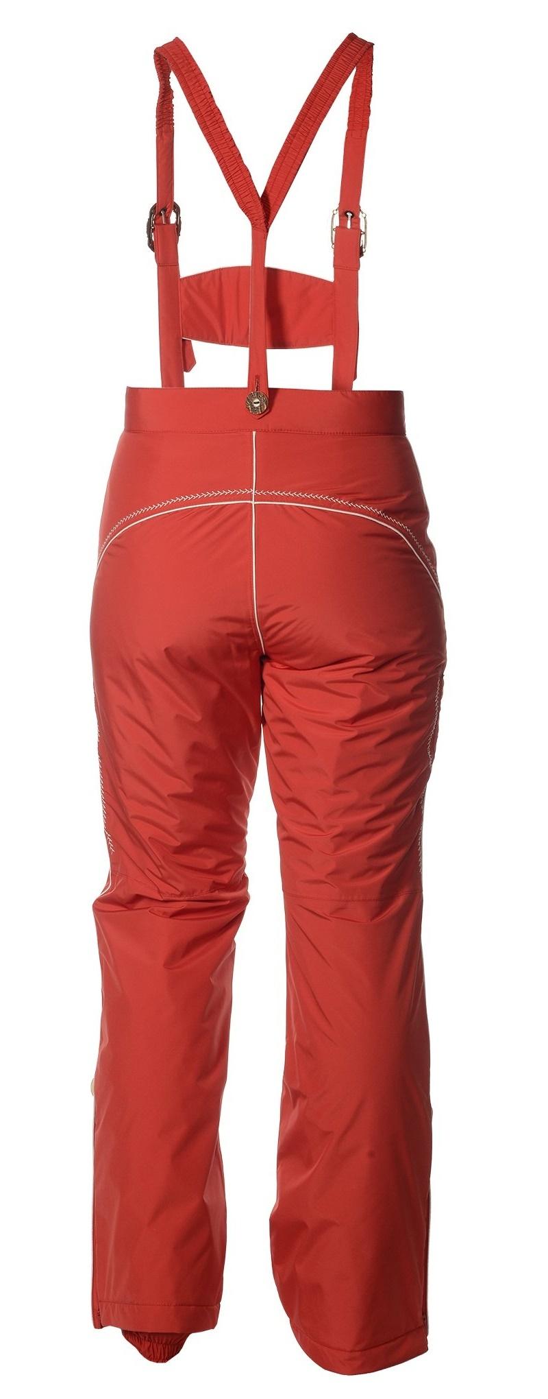 Женские горнолыжные брюки Lois Almrausch красные от австрийского бренда в тирольском стиле