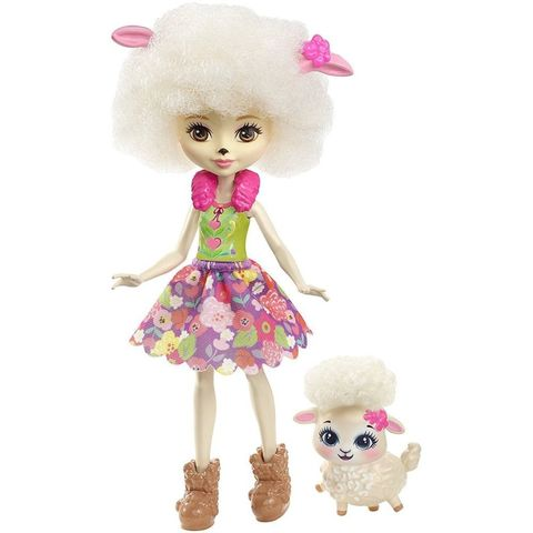 Кукла Энчантималс Барашка Лорна питомцем - Enchantimals, Mattel