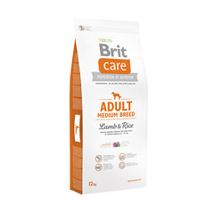 Brit NEW Care Adult Medium Breed для взрослых собак средних пород, ягненок с рисом