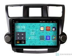 Штатная магнитола 4G/LTE Toyota Highlander 07-12 Android 7.1.1 Parafar PF035