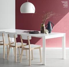 Стол раздвижной EMINENCE CONSOLLE — белый