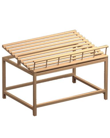 фото 1 Стол для хлеба средний В017 Евромаркет на profcook.ru