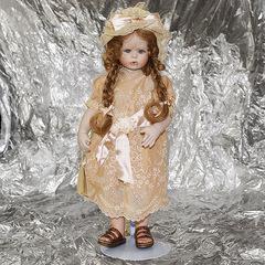 Кукла фарфоровая коллекционная Marigio Simonetta