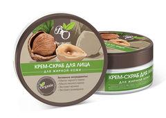 Крем-скраб для лица для Жирной и Комбинированной  кожи, 150g ТМ Bliss Organic