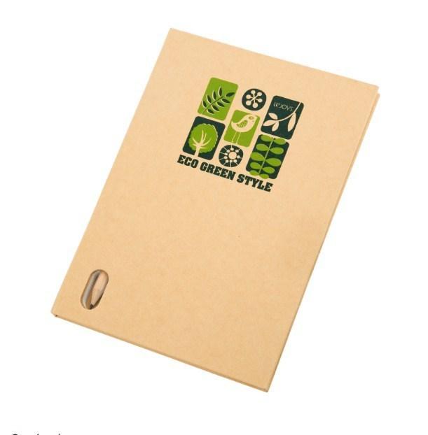 Блокнот, Lejoys, Recycled, в комплекте с карандашом, А5, 148*210 мм