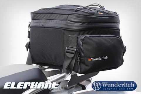 Elephant Сумка на багажник или сиденье черный