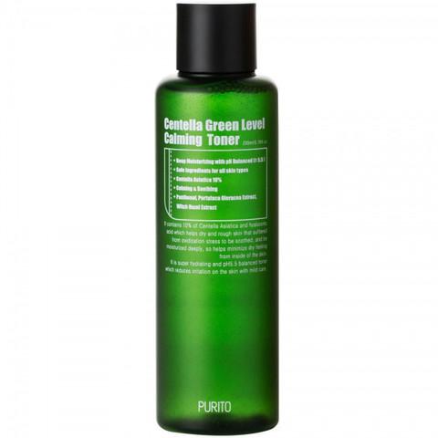 Успокаивающий тонер с центеллой, 200 мл / Purito Centella Green Level Calming Toner