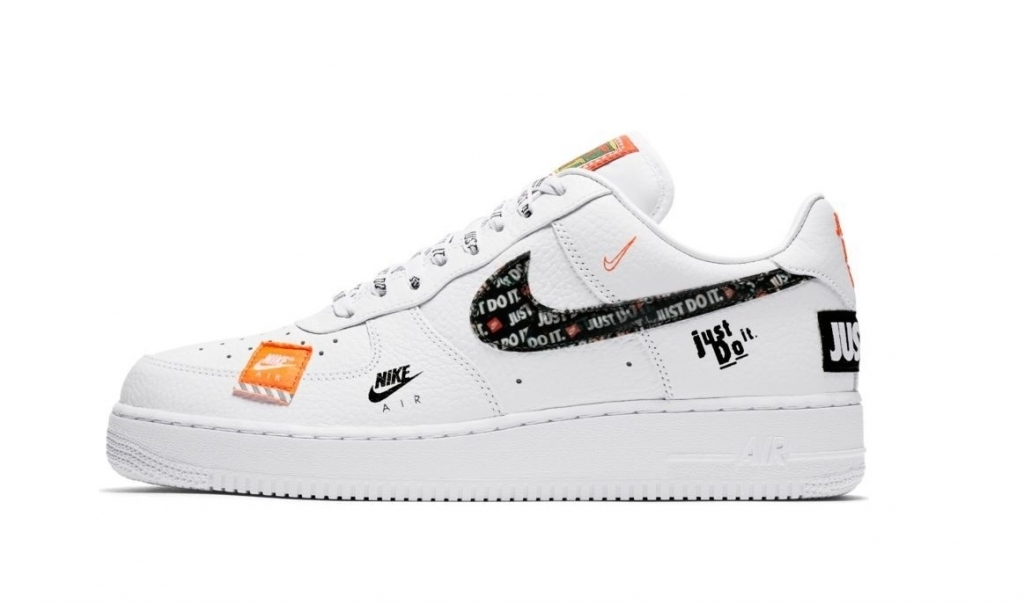 Nike Air Force 1 '07 Premium Just Do It White/Black (060)