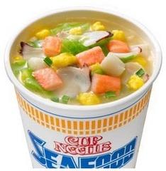 Лапша со вкусом морепродуктов 75 гр. тм Nisshin