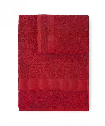 Полотенце 100х150 Caleffi Calypso красное