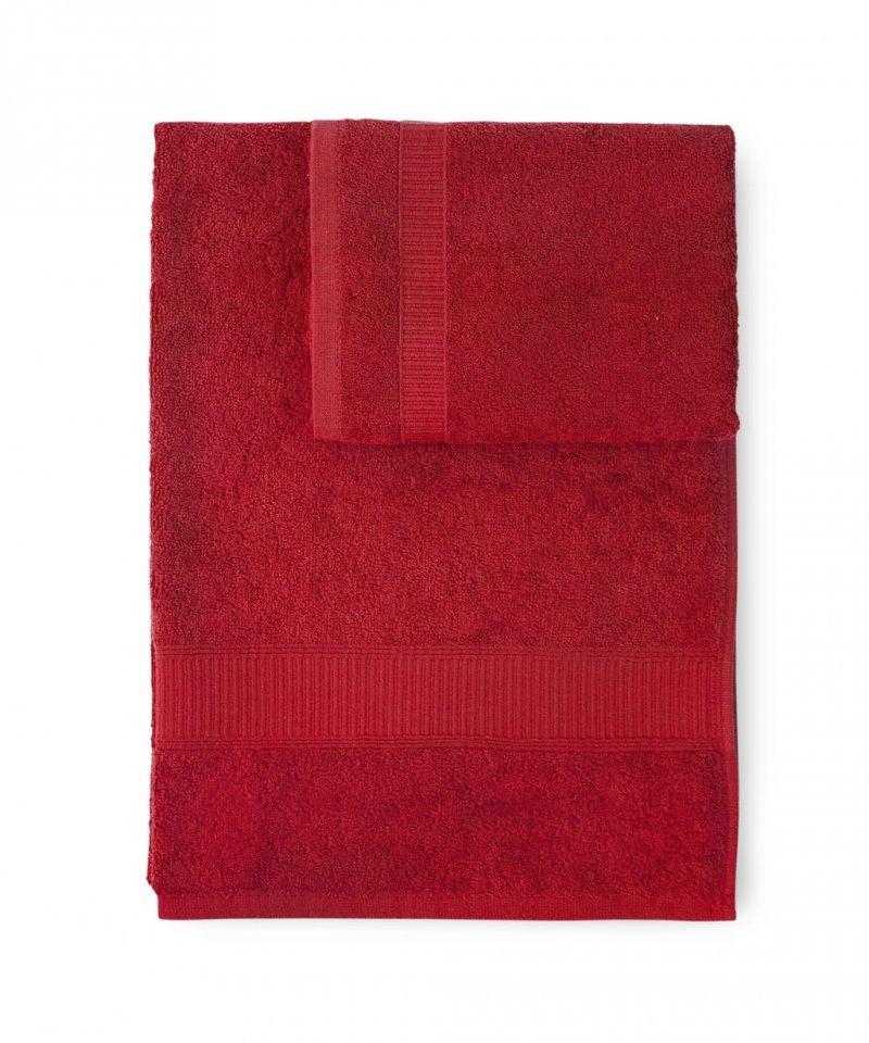 Полотенца Полотенце 100х150 Caleffi Calypso красное nabor-polotenets-2-sht-caleffi-calypso-krasnyy-italiya.jpg