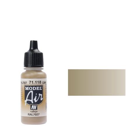 118 Краска Model Air RAL7027 Камуфляжный серый (Cam. Grey) укрывистый, 17 мл