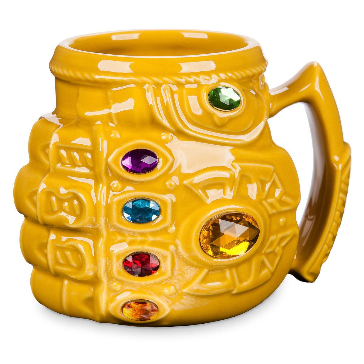 Лимитированная кружка Марвел - «Танос»