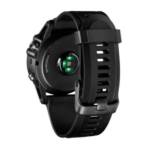 Fenix 3 Sapphire HR с черным ремешком