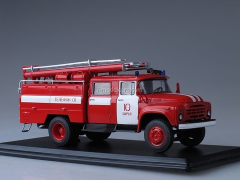 ZIL-130 AC-40 63B fire engine Sharjah Start Scale Models (SSM) 1:43