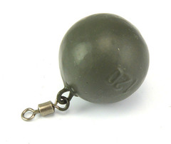 Грузило Carpology BALL Lead 80g - Green