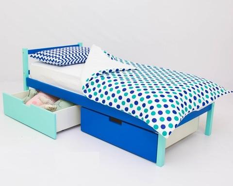 Кровать ФОРЕСТ мятно-синий