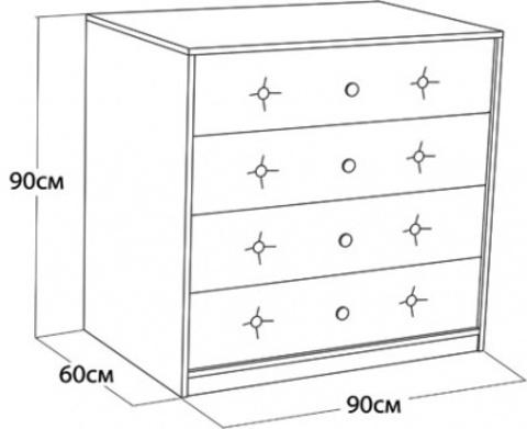 Размеры комода
