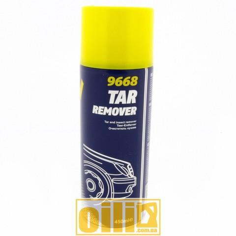 Mannol 9668 TAR REMOVER 450ml, очиститель кузова от гудрона маннол