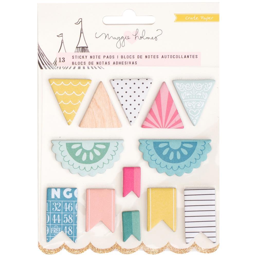 Закладки-стикеры Maggie Holmes Carousel Sticky Notes Set Banner Shapes-390шт