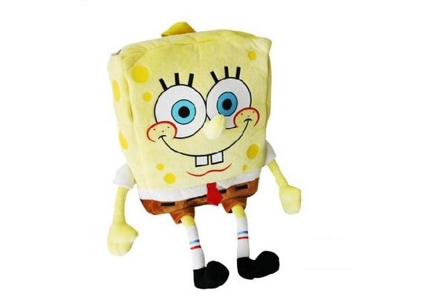 Губка Боб рюкзак плюшевый — Sponge Bob Plush Backpacks