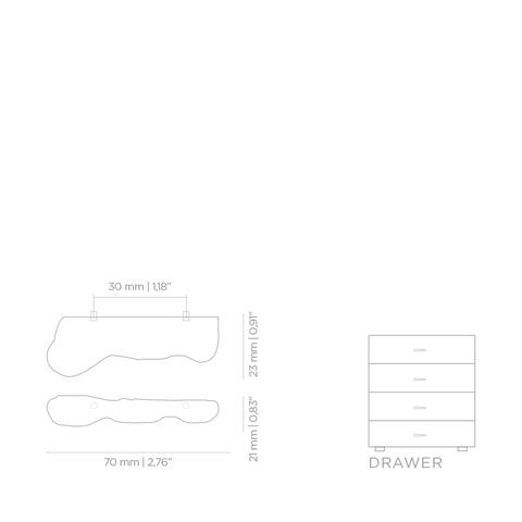 Мебельная ручка PullCast NOUVEAU EA1014