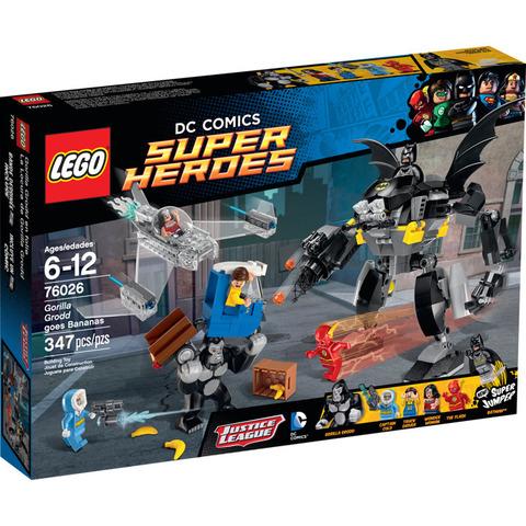 LEGO Super Heroes: Горилла Гродд сходит с ума 76026 — Gorilla Grodd Goes Bananas — Лего Супергерои Марвел