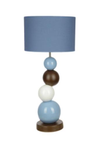 Элитная лампа настольная Baloes coloridos голубая от Sporvil