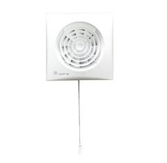 Вентилятор накладной S&P Silent 100 CMZ (шнурок вкл/выкл)