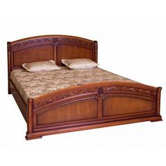 Кровать Валенсия (С05) Темный орех