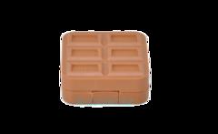 Дорожный набор для линз «Плитка шоколада»