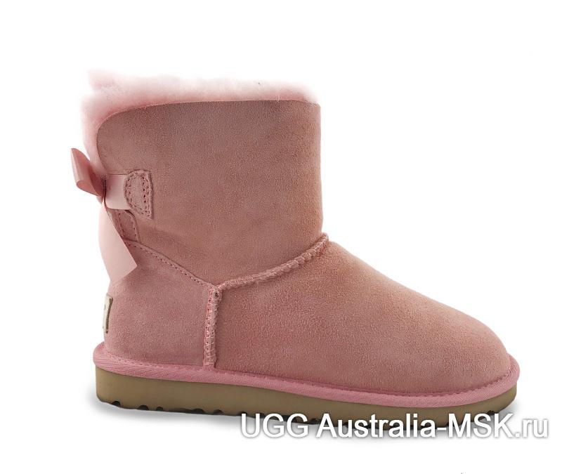 UGG Bailey Bow Mini Pink