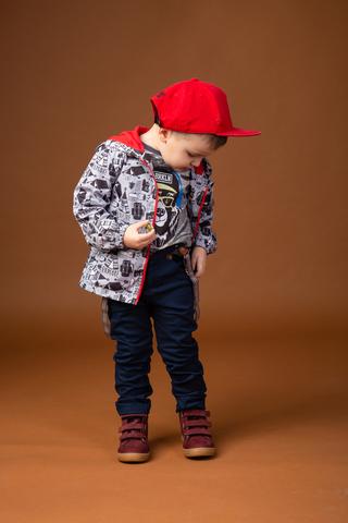 КТ181 Куртка облегченная (ветровка) для мальчика