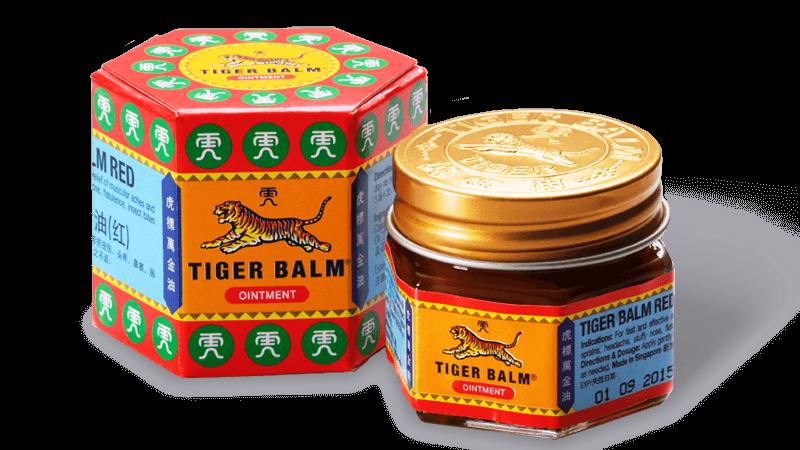 Haw Par Thailand Красный (согревающий) тигровый бальзам Tiger Balm Red Ointment, 10 г