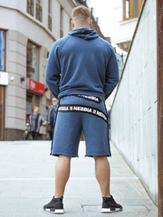 Мужская толстовка Nebbia 149 dark blue