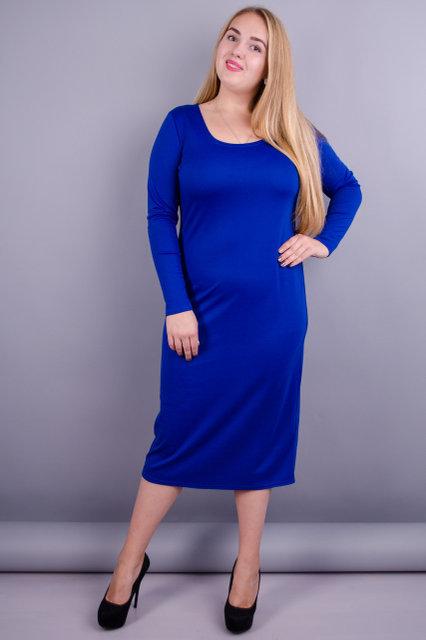 Мирослава француз. Сукня великих розмірів для жінок. Електрик. 75b9b5327e65c
