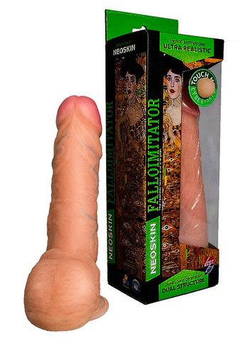 Реалистичный фаллоимитатор HUMAN FORM (4,5 х 15 см)
