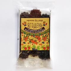 Мармелад Ягодень с натуральными соками облепихи, брусники, черноплодной рябины Сибирский Кедр 140 гр