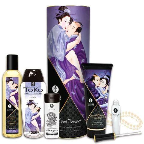 Набор возбуждающей интимной косметики Shunga Carnal Pleasures