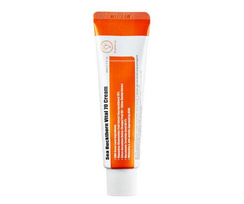 Витаминный крем для лица с экстрактом облепихи, 50 мл / Purito Sea Buckthorn Vital 70 Cream