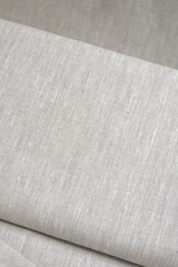 Ткань льняная, цвет натурального льна-меланж