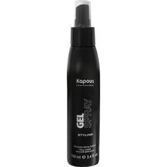 KAPOUS гель-спрей для волос сильной фиксации 100мл.