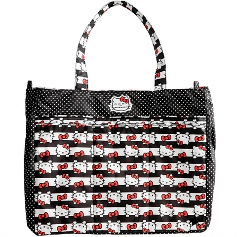 Сумка для мамы Ju-Ju-Be Super Be Hello Kitty Dots & Stripes
