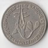 K7192, 1980, Западно-Африканские штаты, 50 франков