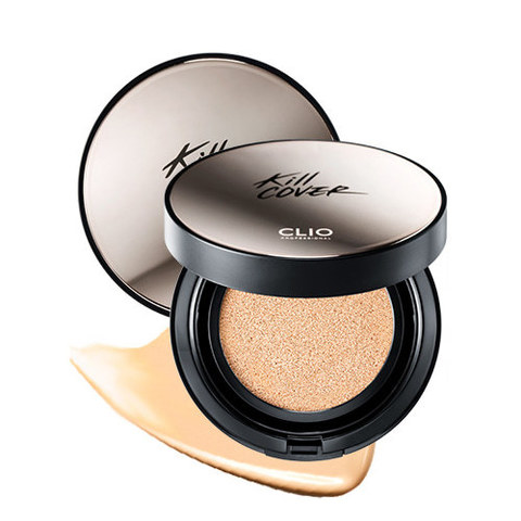 Кушон CLIO Kill Cover Founwear Cushion XP SPF50+ PA+++ 15g + Refill 15g + Запаска