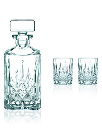 Набор стаканов для виски 2шт 295мл и декантер 750мл Nachtmann Noblesse